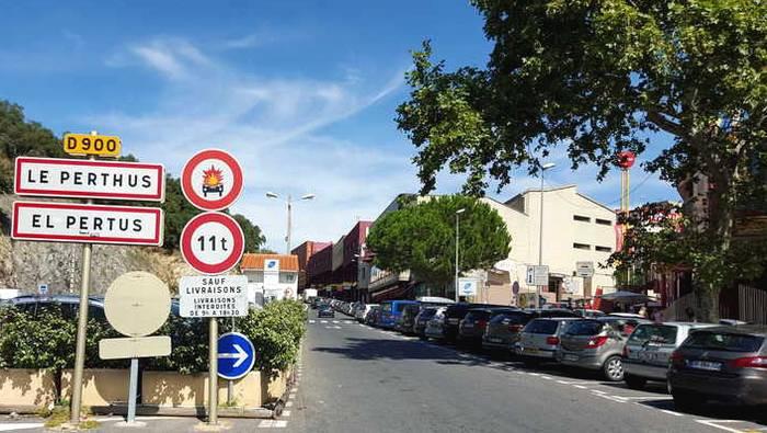 Perthus frontière franco-espagnole