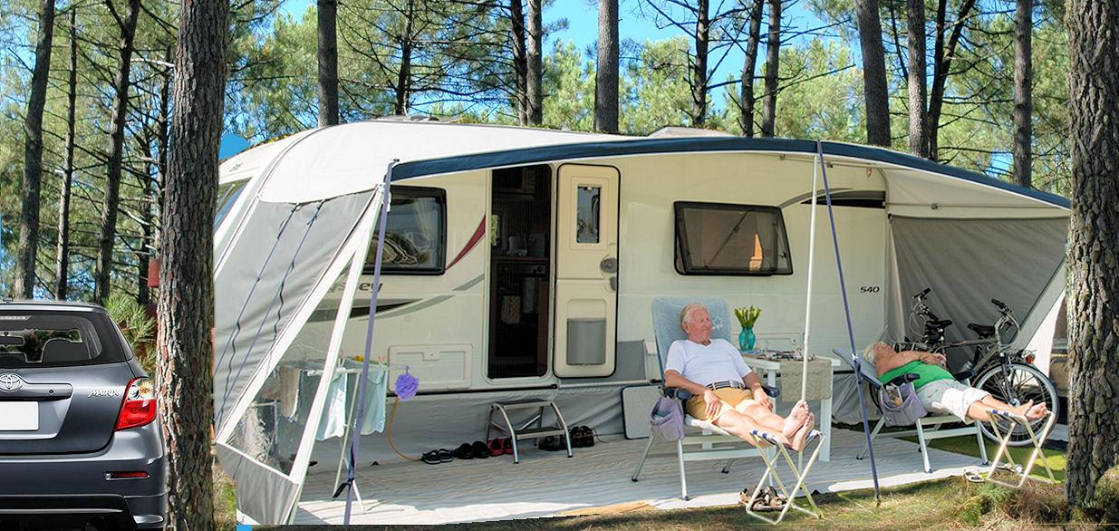 Location emplacements Caravanes - Camping Maureillas